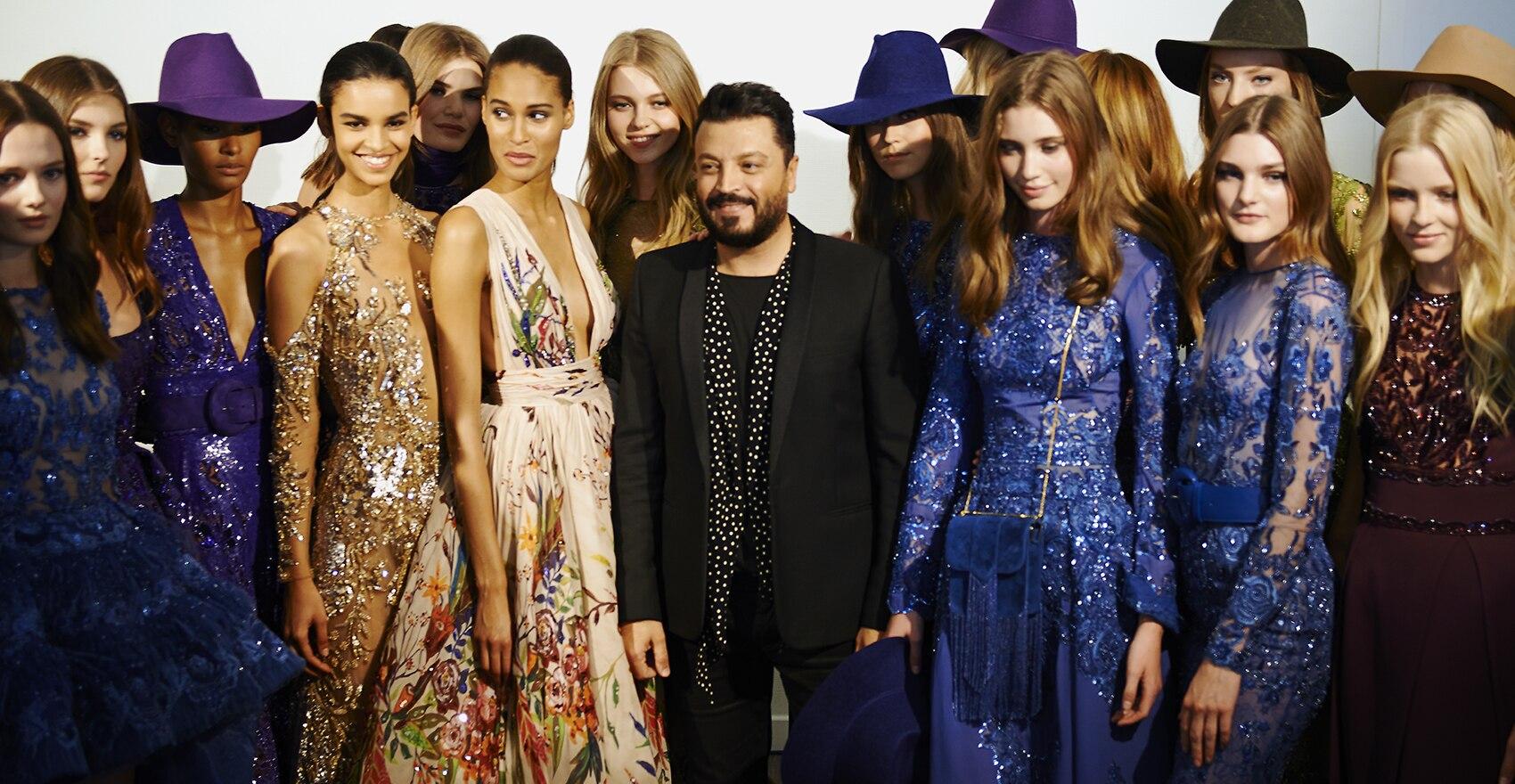 Zákulisí Podzim-Zima 2016 haute couture kolekce Zuhaira Murada na Týdnu módy v Paříži pro vlasový styling návrhář | René Furterer