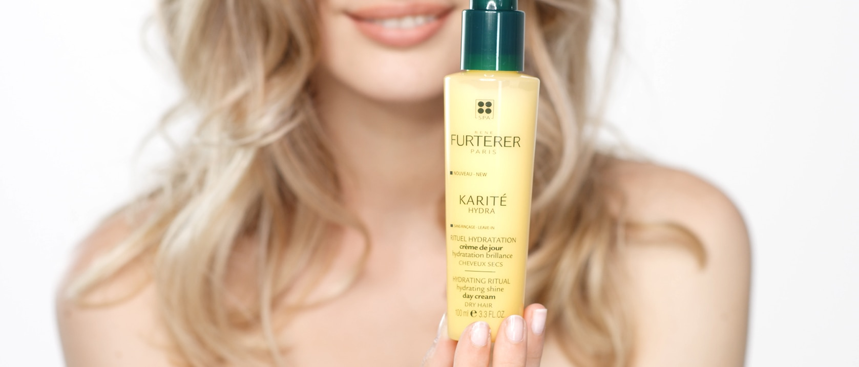 KARITE HYDRA crème de jour Hydratation brillance video application | René Furterer
