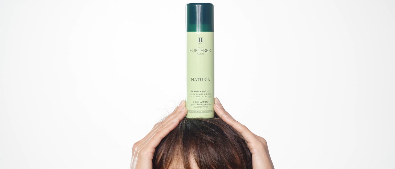 NATURIA Dry shampoo application video    René Furterer