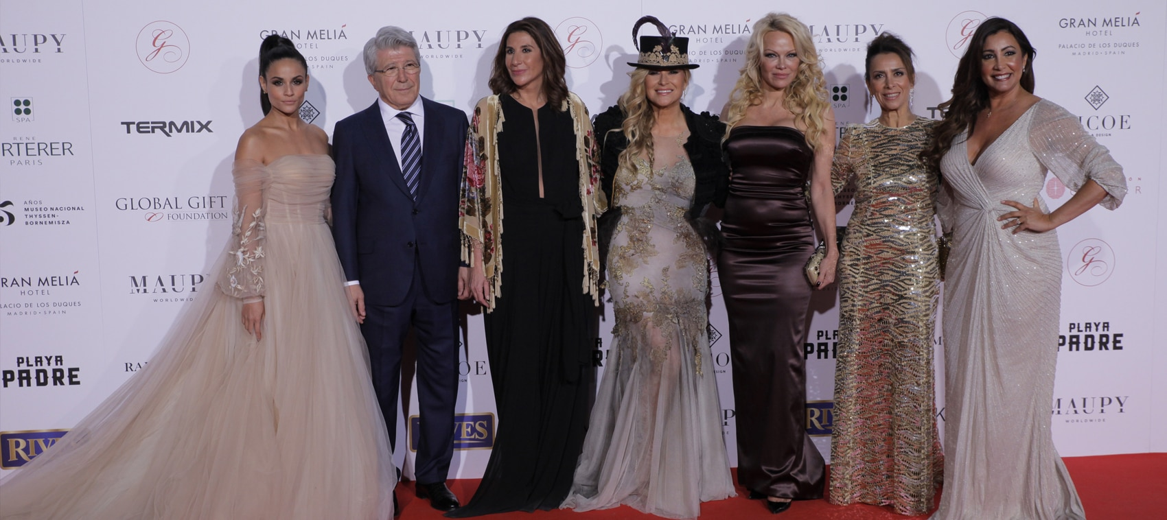 René Furterer en la alfombra roja de la III The Global Gift Gala Madrid