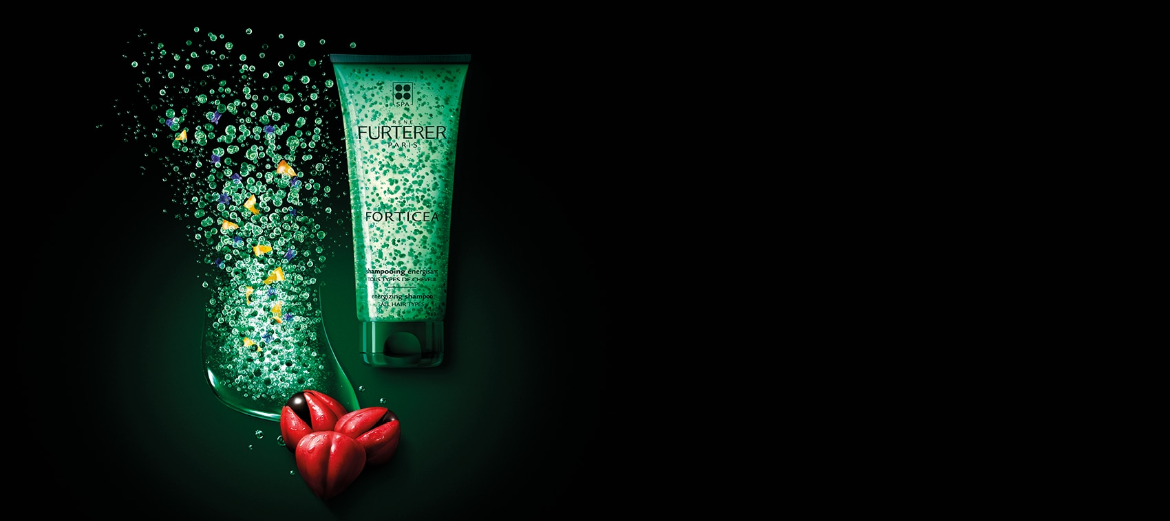 FORTICEA - Shampooing énergisant aux huiles essentielles - Force et vigueur | René Furterer