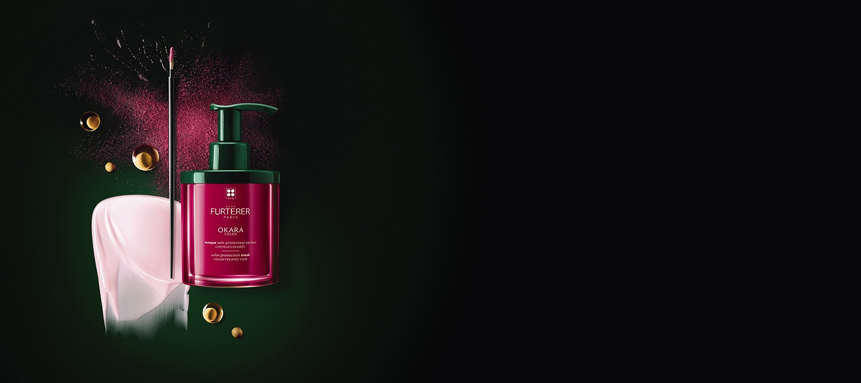 OKARA COLOR - Rituel éclat couleur - Cheveux colorés | René Furterer