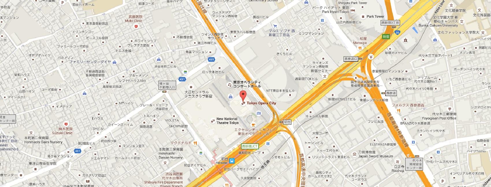 JAPAN tokyo map René Furterer