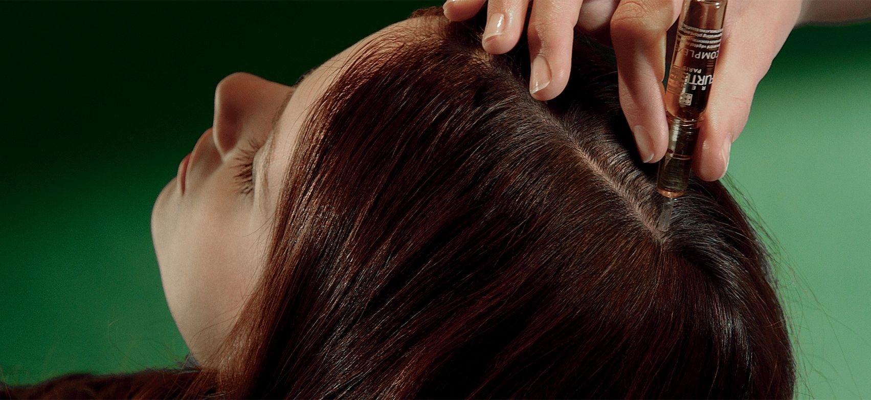 使用René Furterer巴黎 Madeleine秀髮水療修護