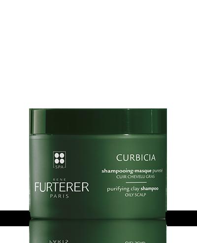 Shampoing-masque pureté à l'argile absorbante Curbicia | René Furterer