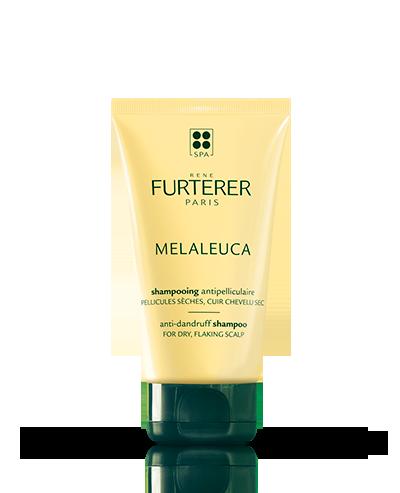 Shampoing antipellicullaire aux huiles essentielles assainissantes, pellicules sèches Melaleuca | René Furterer