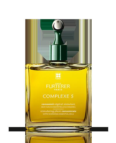 COMPLEXE 5 - Concentré végétal stimulant aux huiles essentielles chaudes - Tout type de cheveux | René Furterer