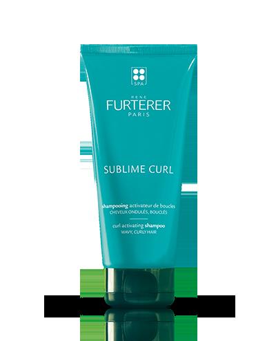 SUBLIME CURL - Champú activador de rizos - Cabellos ondulados, rizados | René Furterer