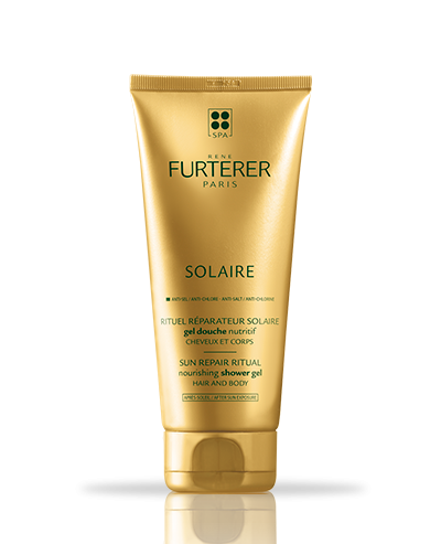 Solaire hydrating shower gel hair and body| René Furterer