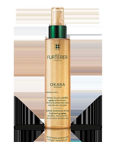OKARA BLOND - Spray aclarante -  Cabellos rubios naturales con mechas o coloreados  | René Furterer