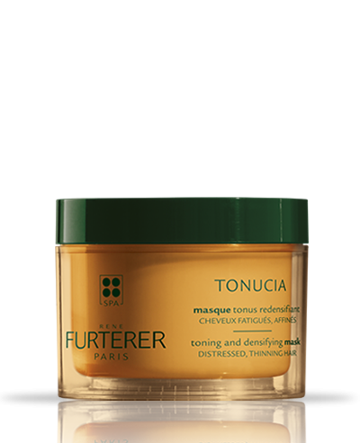 Tonisierende Maske für dichteres Haar mit stimulierenden, ätherischen Ölen Tonucia | René Furterer