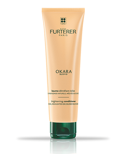 OKARA BLOND - Entwirrender Leuchtkraft-Balsam -Naturblondes, gesträhntes oder blondgefärbtes Haar | René Furterer