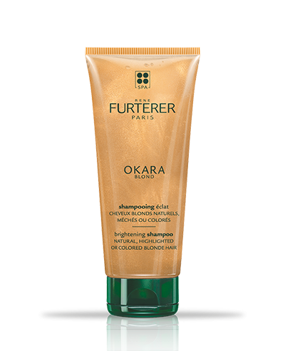 OKARA BLOND - Shampoo luminosità - Capelli biondi naturali, con meches o colorati | René Furterer