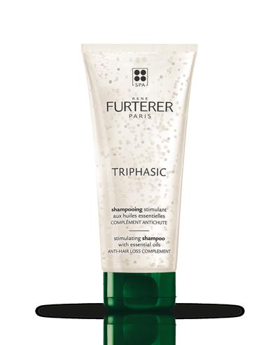 TRIPHASIC - Shampooing stimulant aux huiles essentielles - Chute héréditaire et hormonale | René Furterer