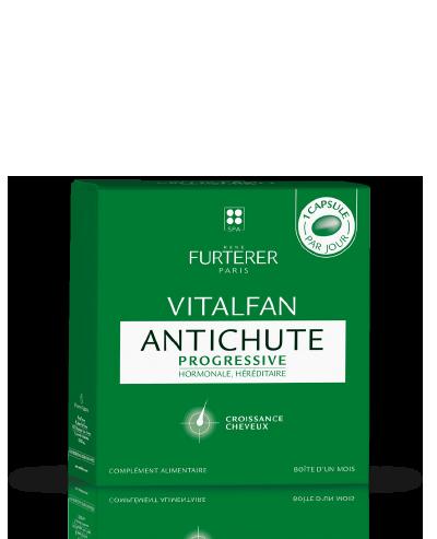 VITALFAN Antichute Progressive - Complément alimentaire pour les cheveux clairsemés | René Furterer