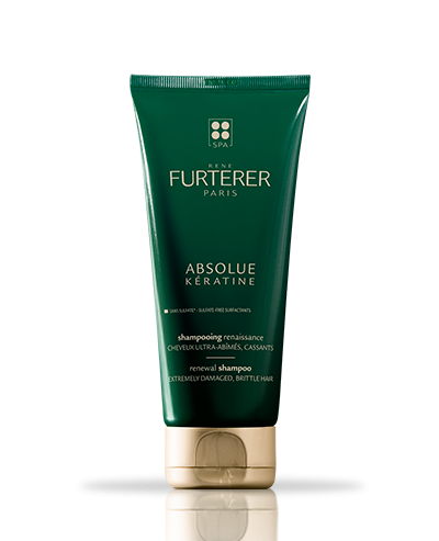 ABSOLUE KÉRATINE - Shampooing renaissance ultime - Cuir chevelu et cheveux ultra-abîmés, cassants | René Furterer