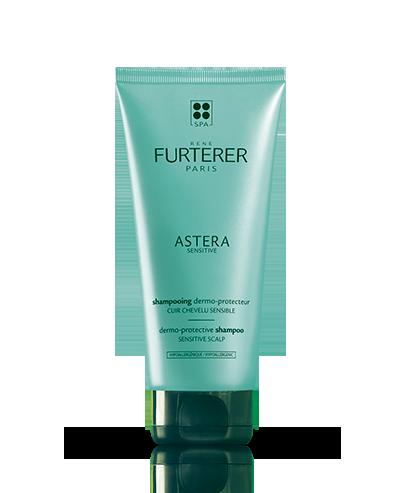 Hochverträgliches Shampoo mit dem Blütenwasser der Hamamelis Astera Sensitive | René Furterer