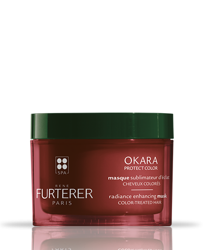 Okara Protect color radiance enhancing conditioner | René Furterer