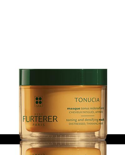 Máscara tonificante redensificante com óleos essenciais estimulantes Tonucia | René Furterer