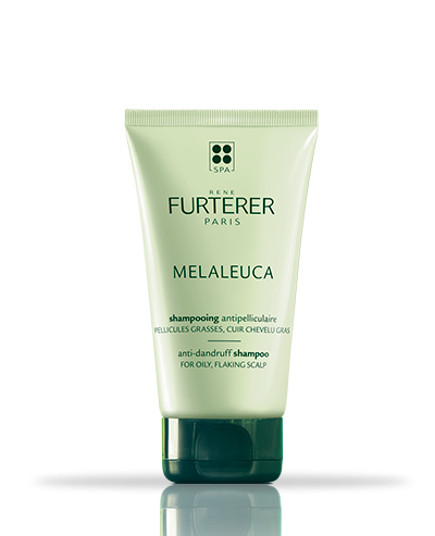 Shampoing antipellicullaire aux huiles essentielles assainissantes,pellicules grasses Melaleuca | René Furterer