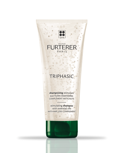 TRIPHASIC - stimulating shampoo with essential oils - Hereditary and hormonal hair loss | René Furterer