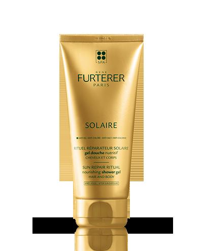 Gel de ducha hidratante para el cabello y el cuerpo Solaire | René Furterer
