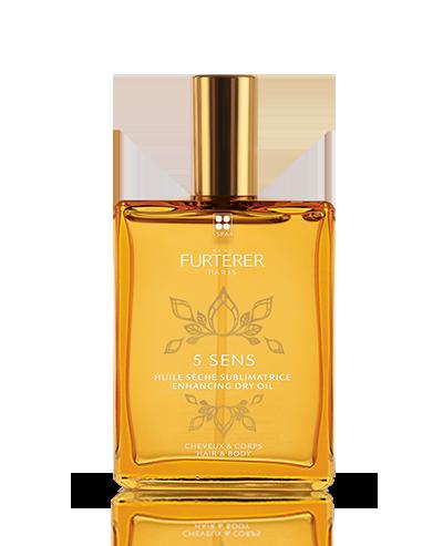 olio secco sublimatore capelli e corpo | 5 sens | René Furterer