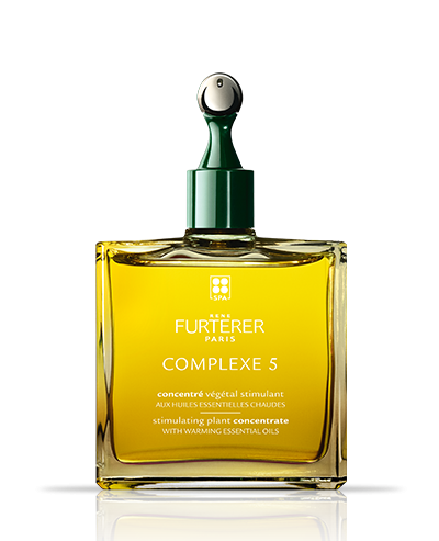 Complexe 5 - Concentrado vegetal estimulante com óleos essenciais quentes - Todos os tipos de cabelo | René Furterer