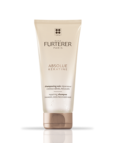 ABSOLUE KERATINE - Herstellende verzorgende shampoo - Broos en beschadigd haar | René Furterer