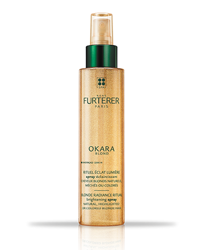 OKARA BLOND - Ophelderende spray - Nature blond haar, highlights of blond gekleurd haar | René Furterer