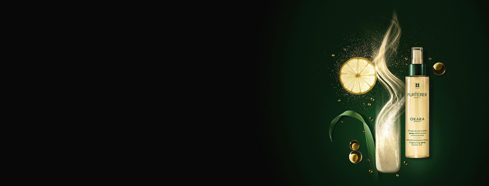 OKARA BLOND - Rituel éclat lumière - Cheveux blonds naturels, méchés ou décolorés  René Furterer