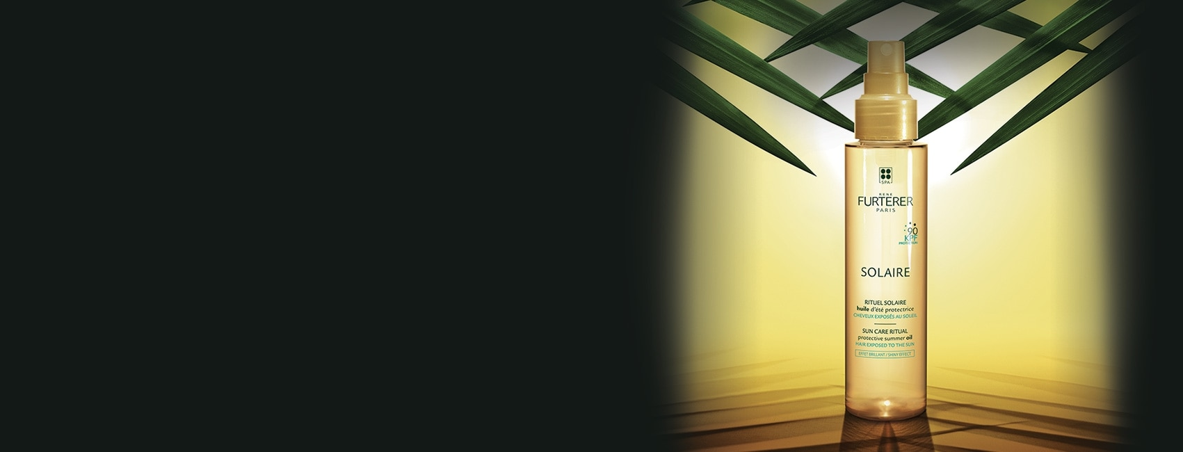 SOLAIRE - Rituel SOLAIRE - Cheveux sensibilisés : soleil, mer, piscine | René Furterer